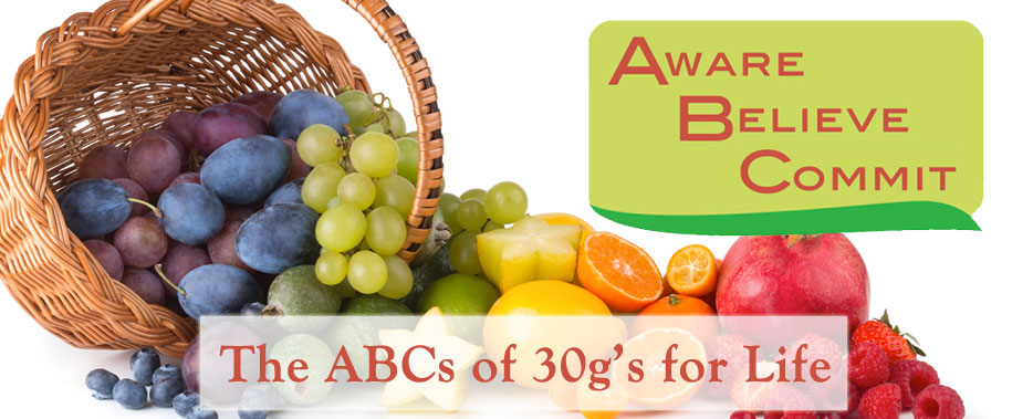 30g's For Life Program - the ABC's